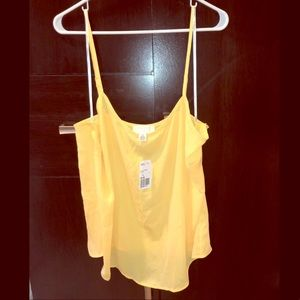 NWT Forever 21 Plus Yellow Cami